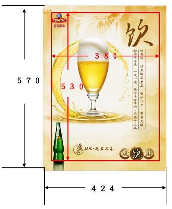 电梯框架广告的尺寸规格有哪些要求?