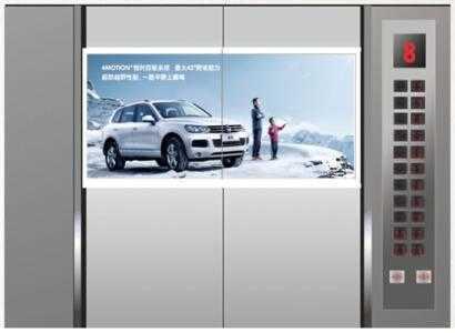 电梯广告常见的三种形式你知道吗?