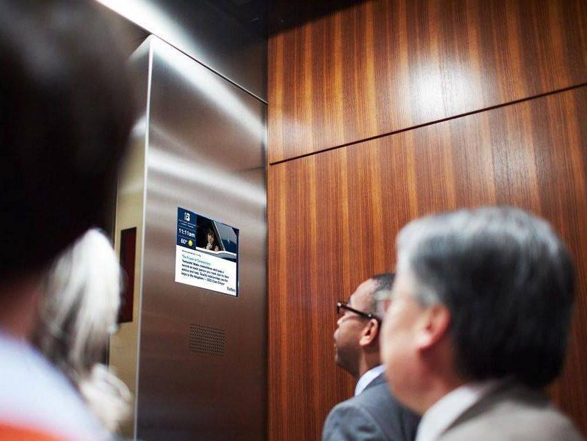 电子屏电梯广告有哪些优势?